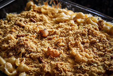 Hatch Chile Mac & Cheese by Uncle Kev